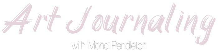 Art journaling mona