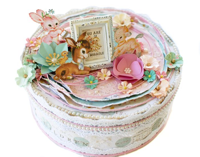 Heaven Sent Keepsake Box- Delaina Burns (1)