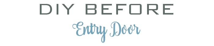 DIY entry door