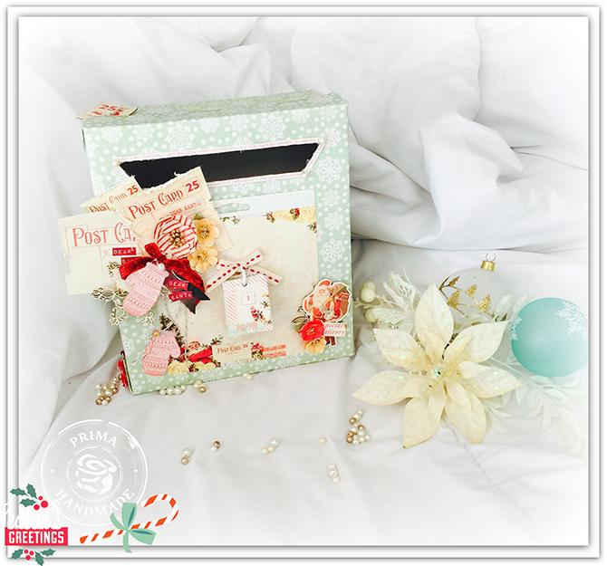 Christmas mail box 1