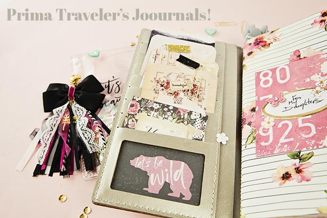 Traveler's Journals Collage