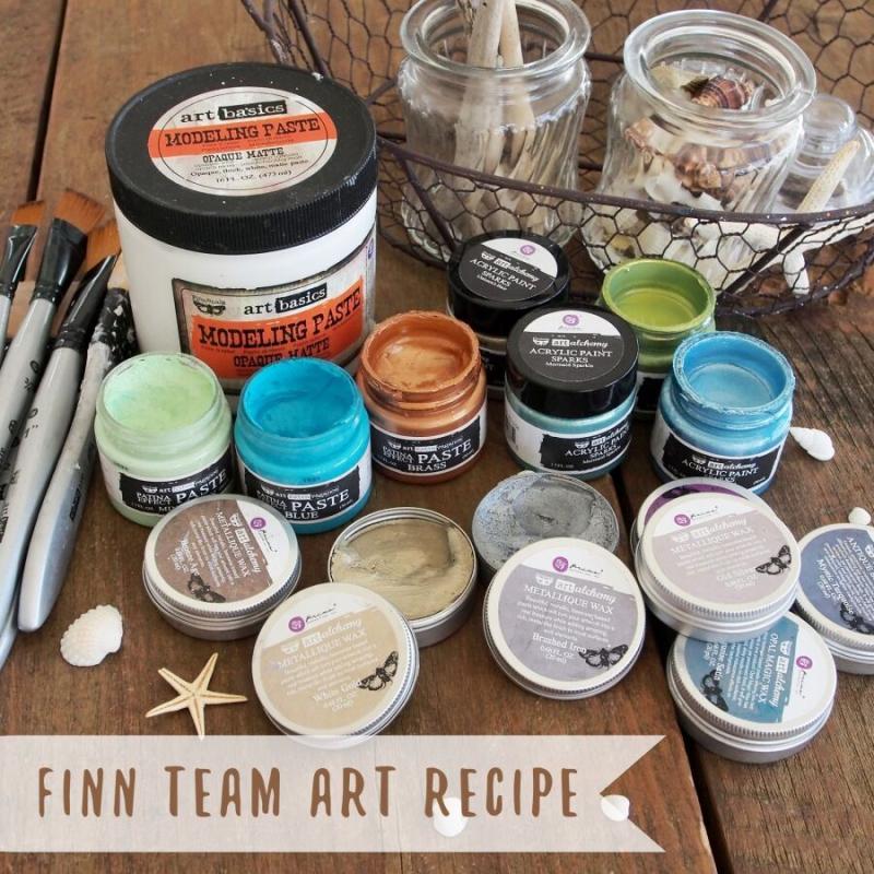 Feb finn art recipe