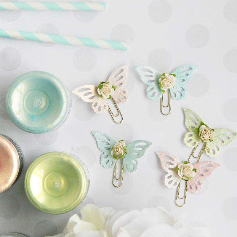 Butterfly clips cu1