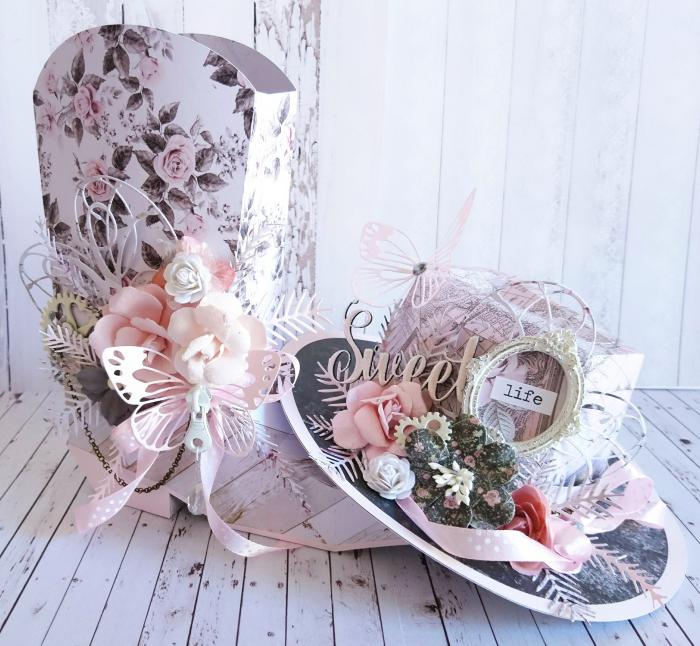 11Prima Marketing GD Rose Quartz OTP (Cowgirl Boot & Hat)