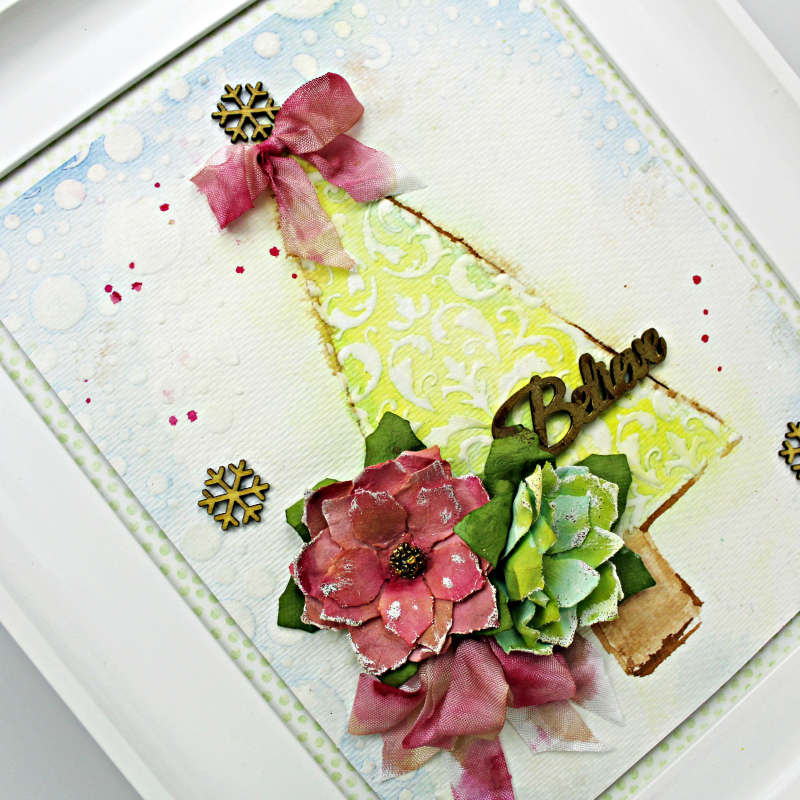 Watercolor Christmas Tree_12-21-17_Robbie Herring_close 1