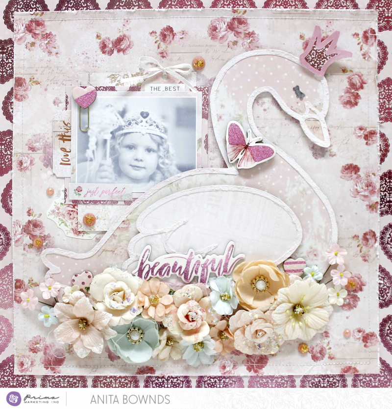 Love story beautiful layout By Anita Bownds love story collection (1)