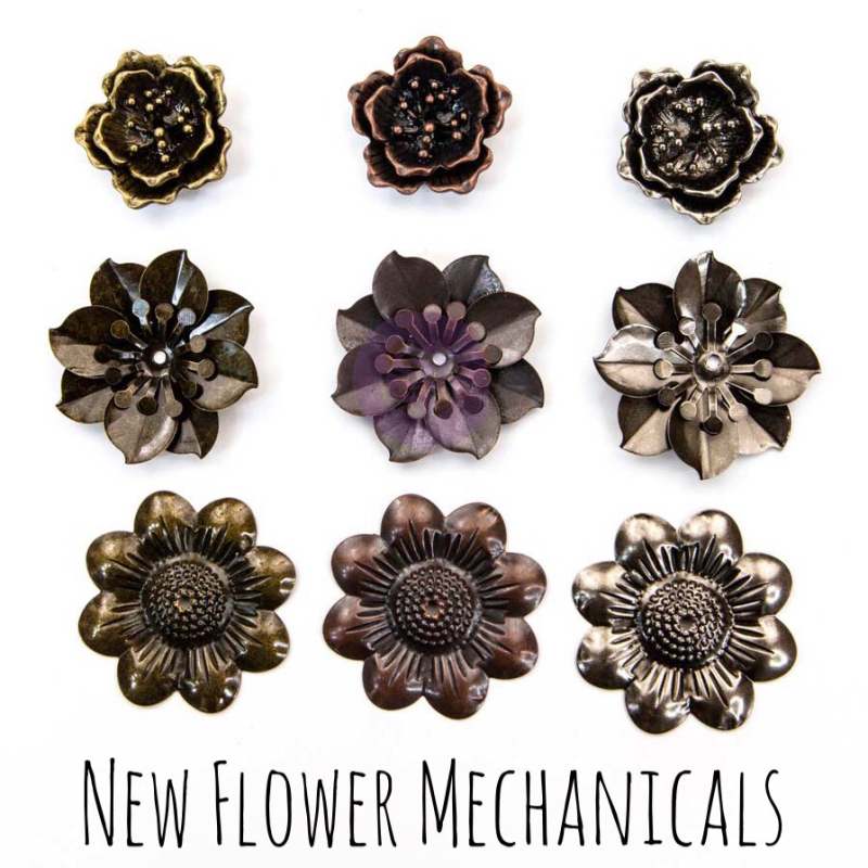 Finn flower mechanicals