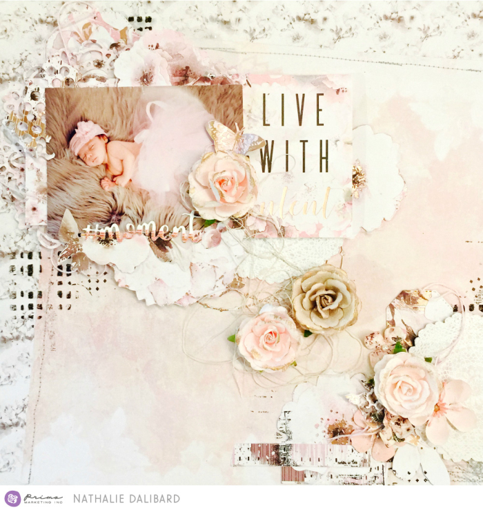 Cherry Blossom Layout Moment 1