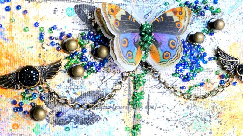 Finn glass beads adrienne