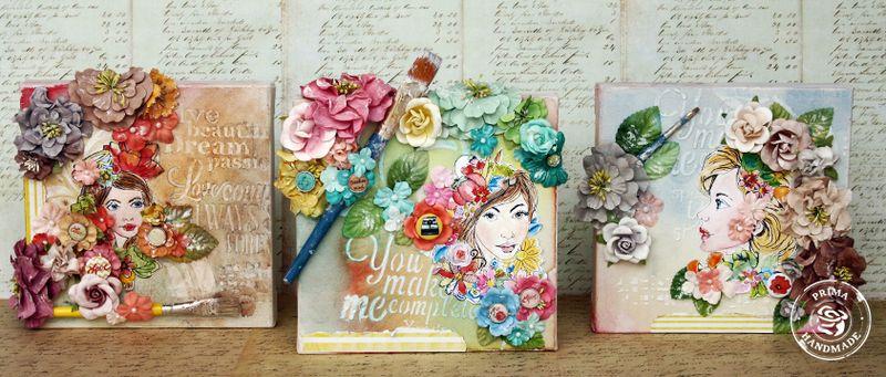 Bloom girl canvas larissa