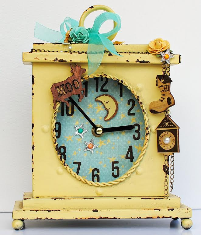 Bedtime story delaina clock