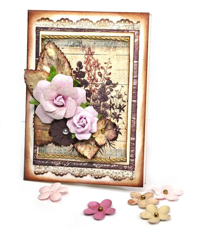 Flowers jennifer card