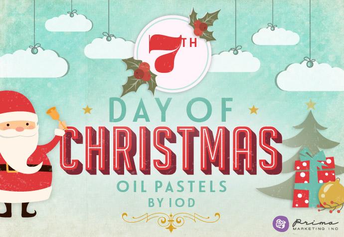 7 oil pastels