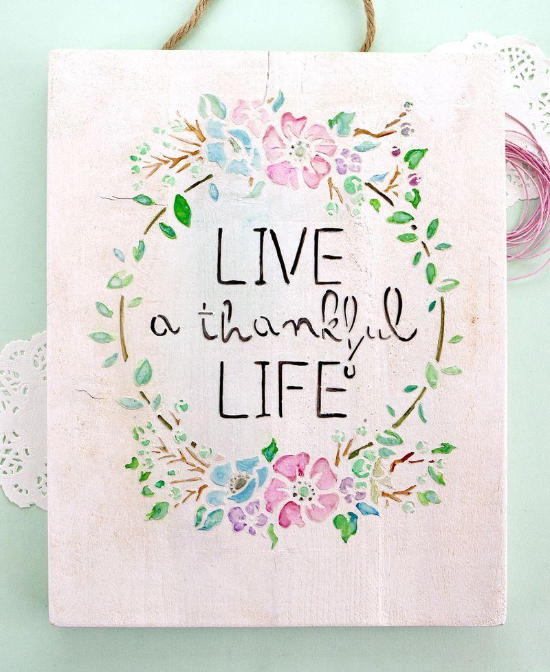Live a thankful life 3