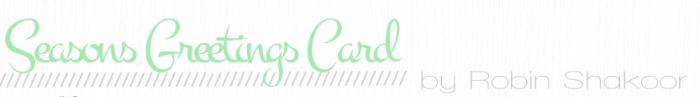 Header robin card