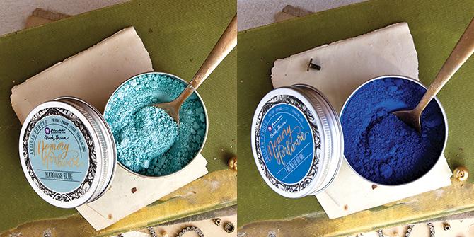 Powder Collage 1