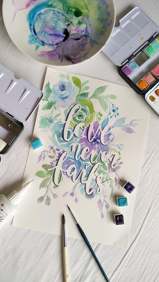 Feb watercolor esther