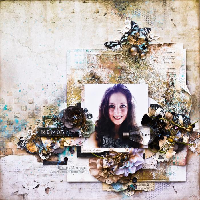 Prima-Marketing-Ink-Scrapbooking-layout-by-elena-mogun