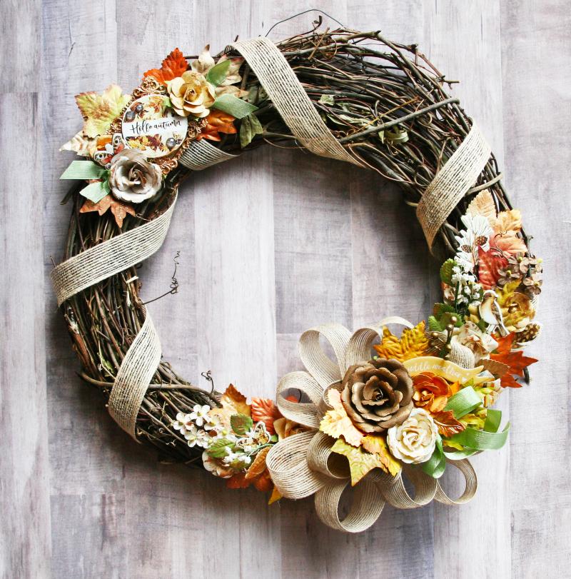 Amber moon sharon wreath