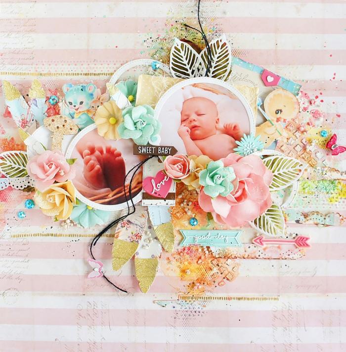 Sweet baby- layout jaya