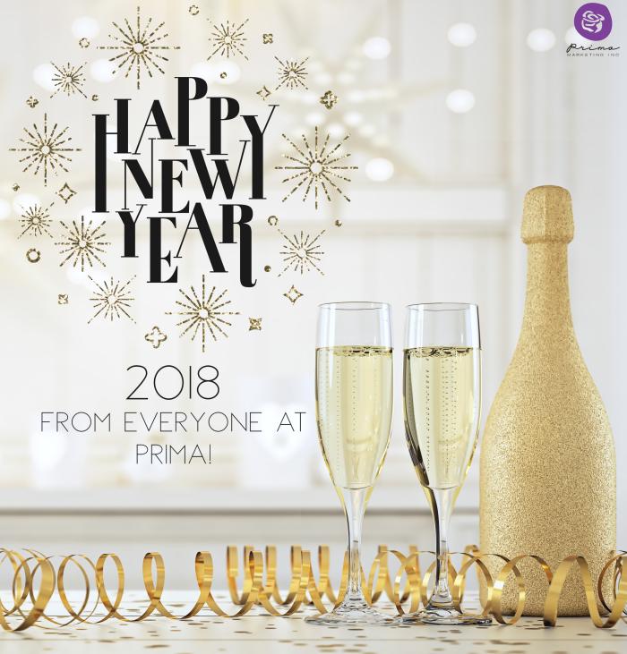 New year 2018 NY18