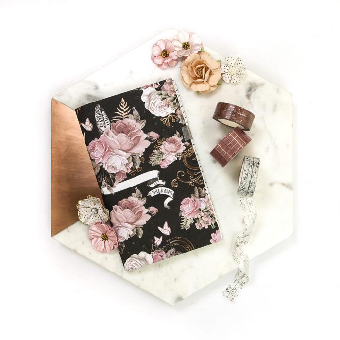 Prima Marketing Amelia Rose Flowers-Scribbles