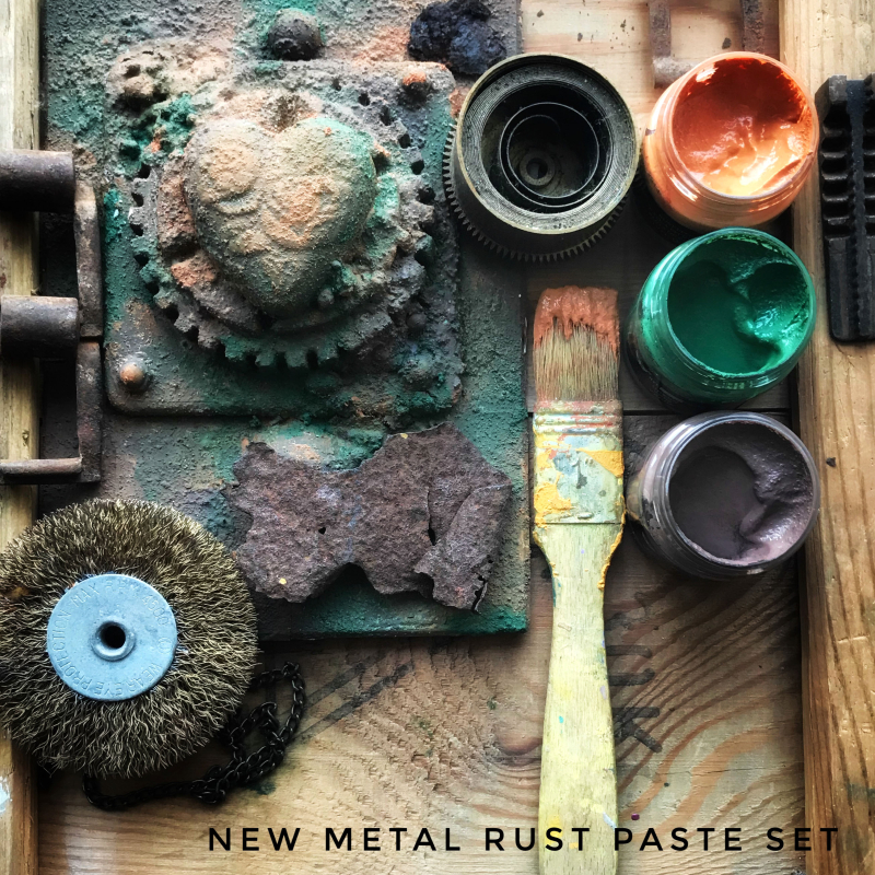 Metal rust text 2