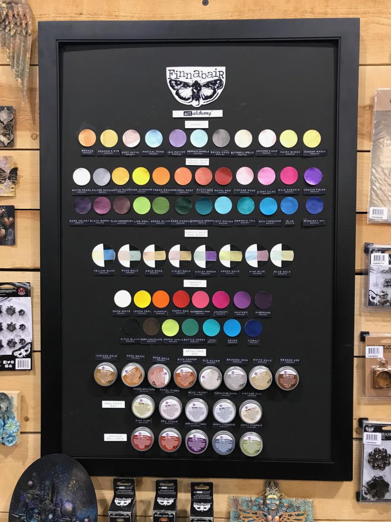 Finn color chart