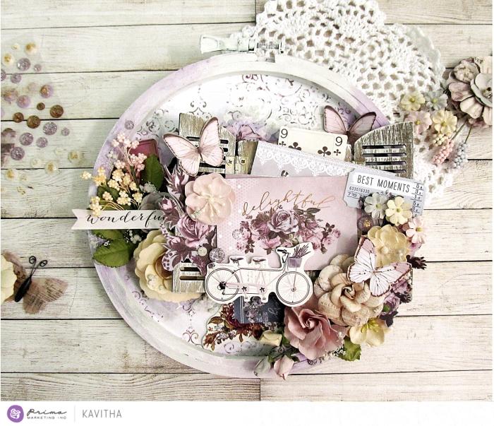 Lavender hoop kavitha