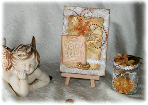 Virginie_gold_card_and_candle